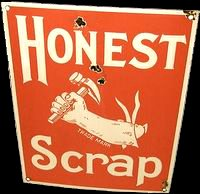 Honest Scrap Award logo