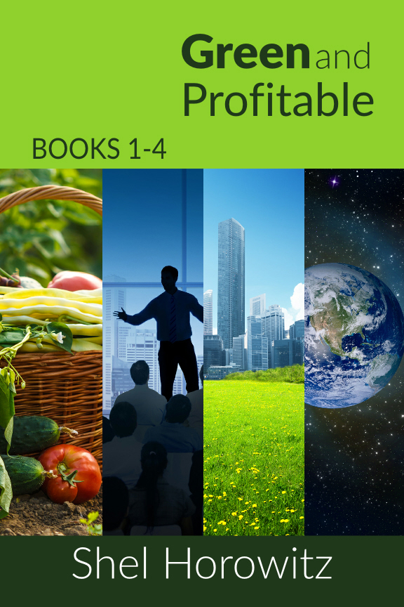 Compilation of four years worth of Shel's monthly column, Green And Profitable. Also available as a series of four smaller books grouped by theme.