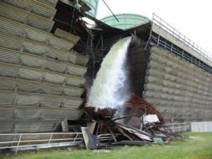 Cooling tower failure, Vermont Yankee