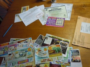 PCH sweepstakes-related inserts vs. ad delivery from other companies
