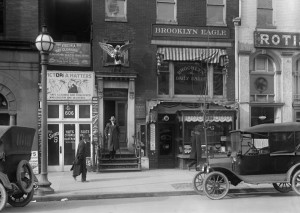 Office of the Brooklyn Daily Eagle, 1916