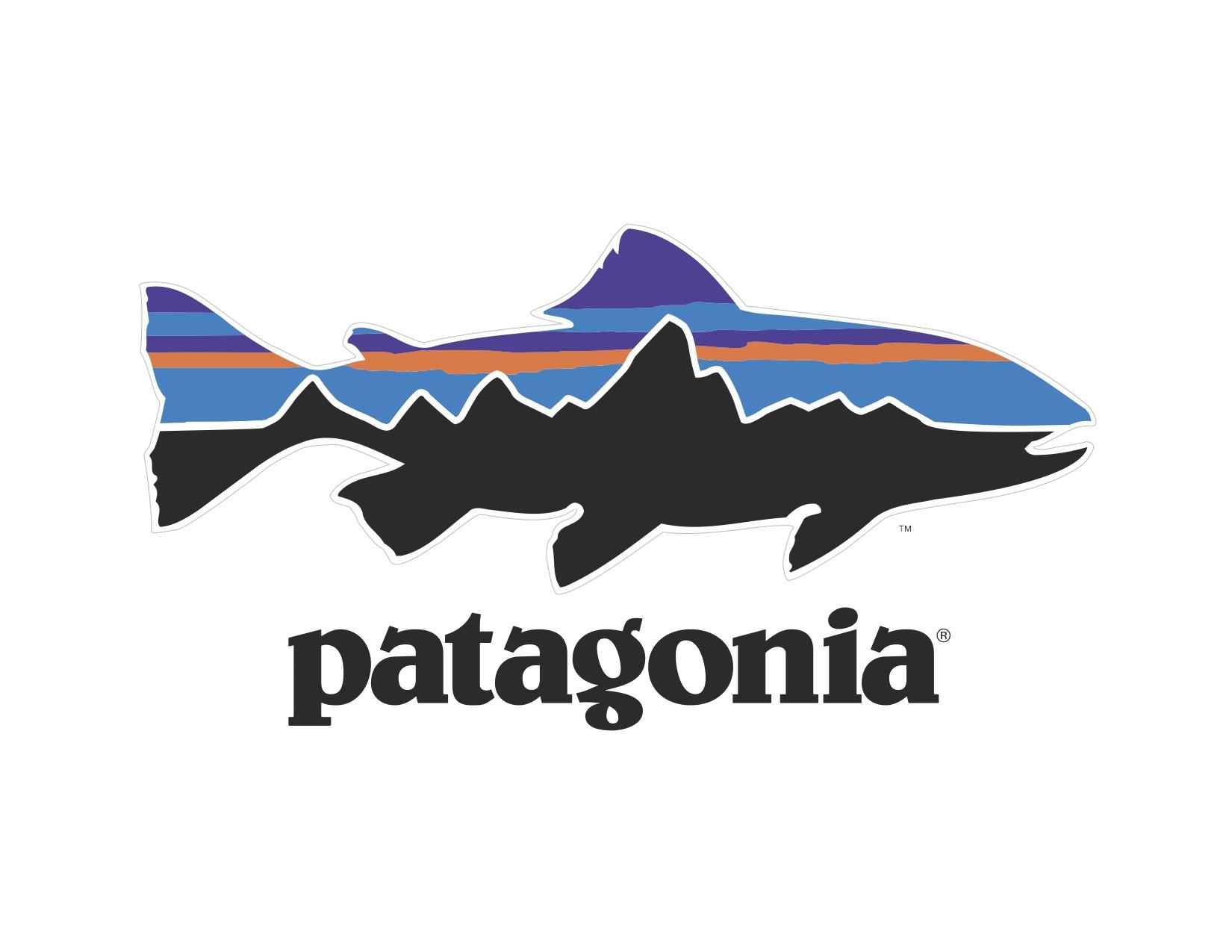 Patagonia fish logo for Patagonia fly fishing