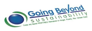 http://goingbeyondsustainability.com logo and tagline