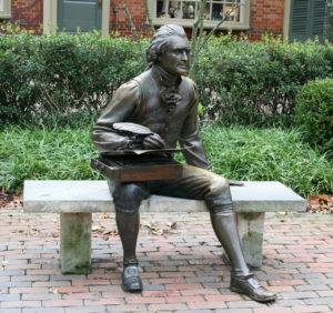 Statue of Thomas Jefferson. Photo by Thad Zajdowicz, FreeImages.com