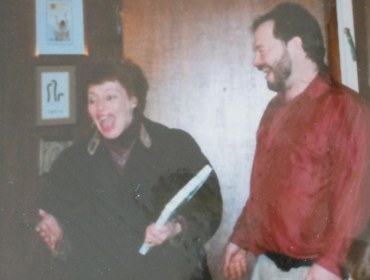 Walking My Mother Gloria Yoshida Into Her 65th Birthday Surprise Party 1998